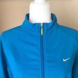 {NIKE} Turquoise Sphere Dry Jacket. Size M. EUC.